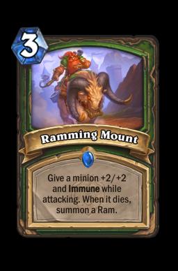 Ramming Mount