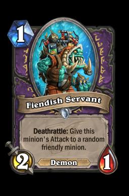 Fiendish Servant