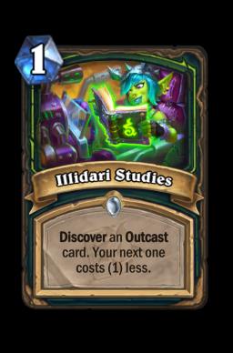 Illidari Studies