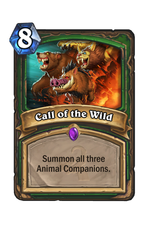 Call Of The Wild Hearthstone Card Statistics Hsreplay Net