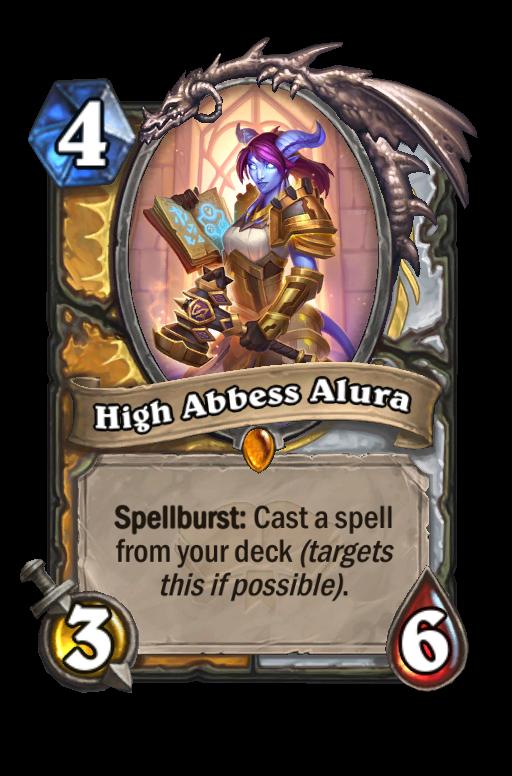 High Abbess Alura - Hearthstone Card Statistics - HSReplay.net